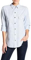 Sanctuary Striped Button Up Shirt