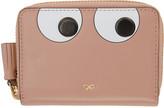 Anya Hindmarch Pink Small Eyes Zip Around Wallet