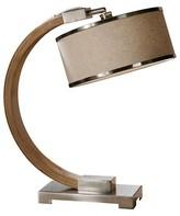 Uttermost Metauro Desk Lamp - Wood