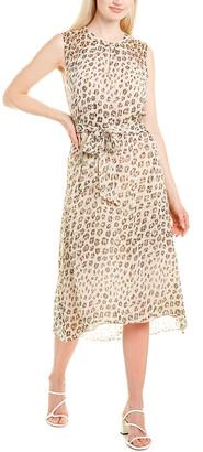 Joie Corrin Silk Midi Dress