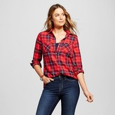Women's Plaid Favorite Shirt - Merona