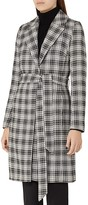 Reiss Rowan Textured Check Coat