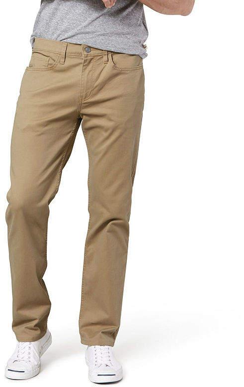 Discover rational construction deft design Classic Fit Big & Tall Jean Cut Khaki All Season Tech Pants D3