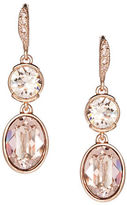 Givenchy Glitz Double Drop Earrings, Rose Goldtone