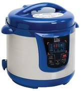 Elite Platinum Stainless Steel Electric Pressure Cooker 8 qt. - Blue