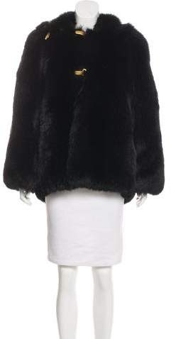 Gianfranco Ferre Fox Fur Bomber Jacket