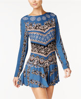 Free People Open-Back Printed Dress