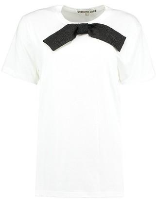 Lee Edeline Neck Bow T-shirt