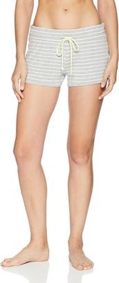 PJ Salvage Women's Stripe Print Lounge Pajama Short