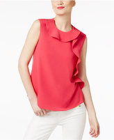 Cynthia Rowley CR By Ruffled Top, Only at Macy's