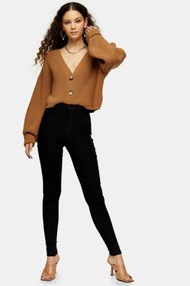 Topshop TALL Pure Black Joni Skinny Jeans