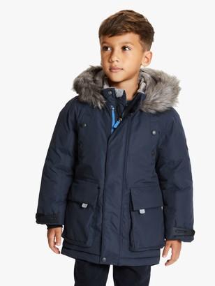 John Lewis & Partners Boys' Technical Parka Coat