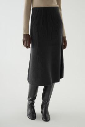 Cos Wool A-Line Skirt
