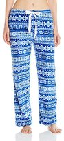 Intimo Women's Ladies Printed Corel Fleece Pant