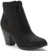 Juicy Couture Women's Rhinestone Ankle Boots