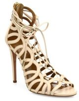 Aquazzura Ooh La La Leather Sandals