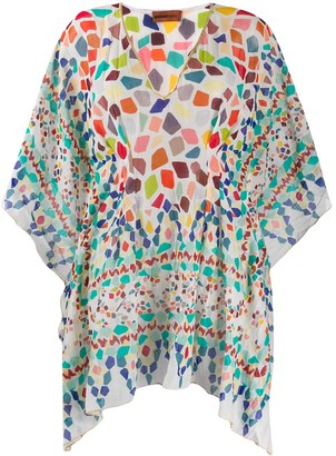 Missoni Mare Geometric Print Kaftan Dress
