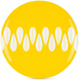 Dansk The Burbs Collection Melamine Sunflower Yellow Dinner Plate