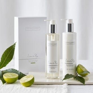 The White Company Lime & Bay Hand & Nail Gift Set, No Colour, One Size