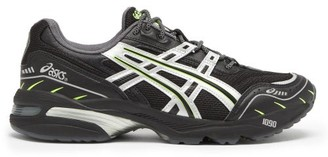 Asics Gel-1090 Mesh Running Trainers - Black Silver