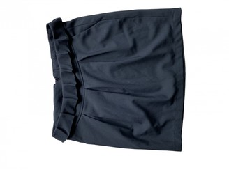 By Zoé Black Cotton Skirt for Women