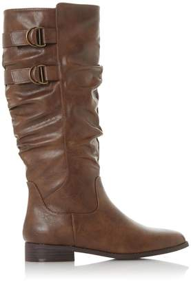 Dorothy Perkins Womens *Head Over Heels By Dune Tan 'Tobi' Knee High Boots, Tan