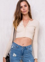 MinkPink Such A Stud Cropped Top