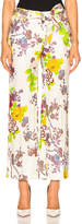 Etro Belted Printed Trousers