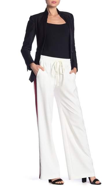 Milly Drawstring Waist Track Pants