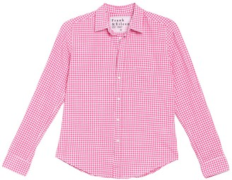 Frank And Eileen Checked Print Long Sleeve Button Down Shirt