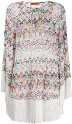 Missoni Mare Fringed Beach Cover-Up