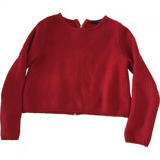 Tara Jarmon Red Cotton Knitwear for Women