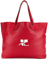 Courreges oversized tote