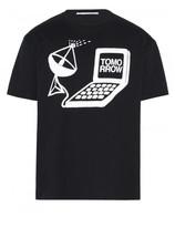 Stella McCartney Tomorrow print T-shirt
