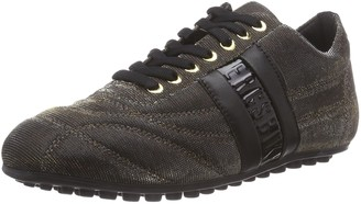 Bikkembergs Women's 850297 Low-Top Trainer Gold Size: 9