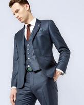 HOPSKIJ Debonair micro check wool jacket