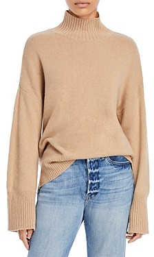 Frame High/Low Turtleneck Sweater