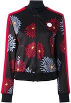 MSGM daisy print bomber jacket - women - Polyamide/Polyester/Spandex/Elastane - 42