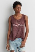 American Eagle Outfitters AE Burnout Muscle T-Shirt