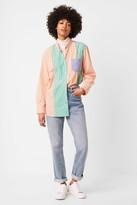 French Connection Adisa Stripe Colourblock Shirt