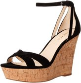 Nine West Women's Joker Suede Wedge Sandal