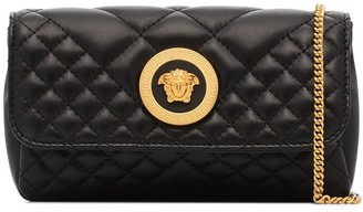 Versace Icon quilted mini crossbody bag