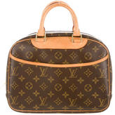 Louis Vuitton Monogram Trouville Bag