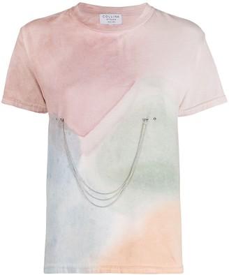 Collina Strada x Charlie Engman watercoulor print T-shirt