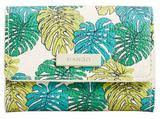 MANGO Leaf print coin purse