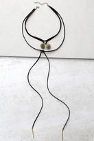 LuLu*s Cause for Celebration Brown Wrap Necklace