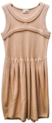 Rodier Pink Wool Dress for Women