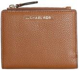 Michael Kors Luggage Leather Zip Wallet