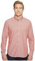 Nautica Long Sleeve Large Plaid Shirt