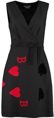 Boutique Moschino Grosgrain Belt Dress